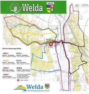 Welda Wanderwege