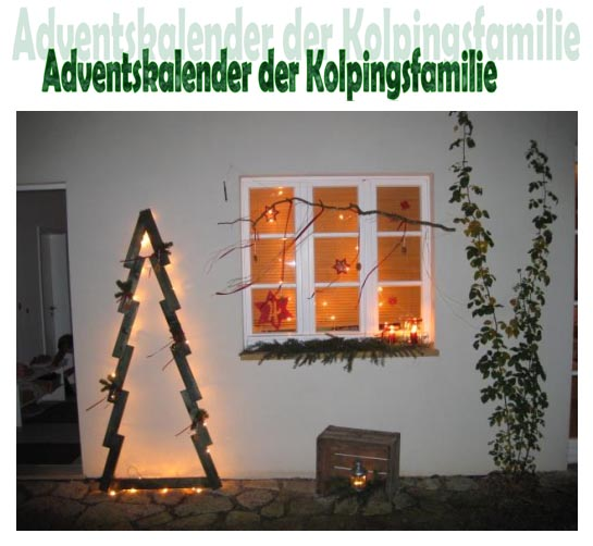 Adventskalender Kolping 2020