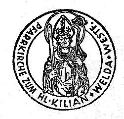Amtssiegel Pfarrei Weldaz