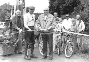 Eröffnung des Radwanderweges