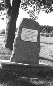 Gedenkstein für Daniel Dumont
