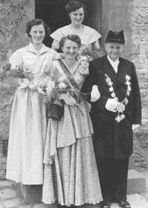 König Heinrich Menne und Königin Lotte Wennekamp