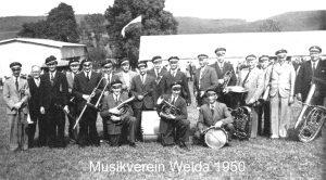 Musikverein Welda 1950