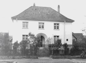 Welda Pfarrhaus 1927 / 28