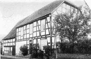 Welda Pfarrhof 1926