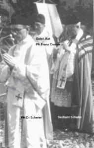 Goldenes Priesterjubiläum Pfr. Cramer