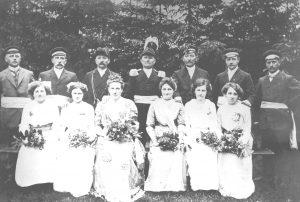 Welda Schützenfest 1914