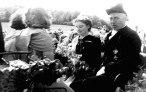 1950 das neue Königspaar Fritz & Maria Stolzenberg