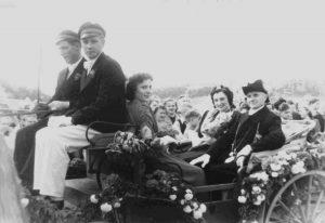 1950 das alte Königspaar Clemens & Elfriede Stolte