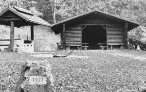 Schutzhütte im Papental