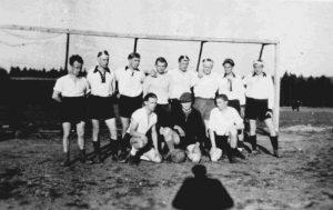 Weldaer Fußballer um 1948