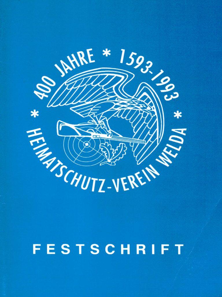 400 Jahre Heimatschutzverein Welda Festschrift