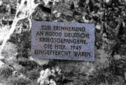 Gedenkstein Kriegsgefangenenlager Welda
