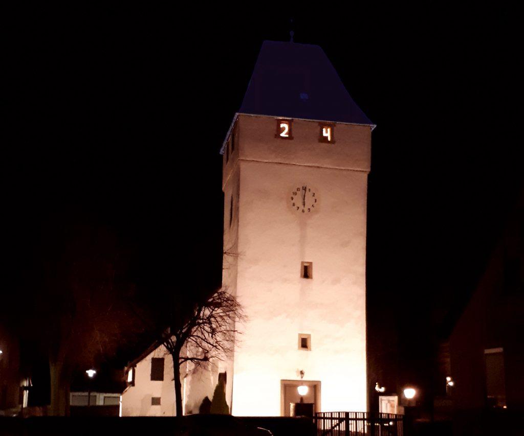 Heiligabend - St. Kiliankirche Welda