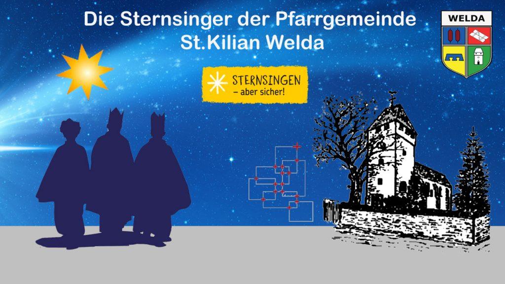 Sternsinger der Pfarrgemeinde St. Kilian Welda