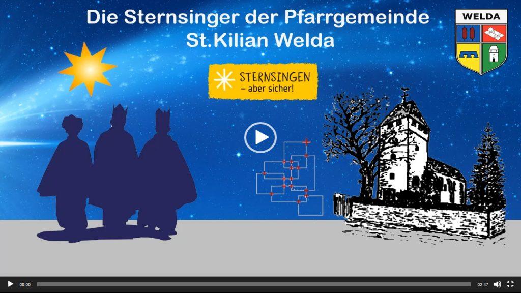 Die Sternsinger der Pfarrgemeinde St. Kilan Welda