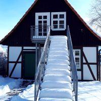 Welda alte Mühle im Winter