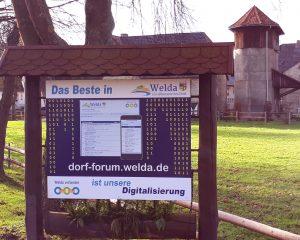 Das Beste in Welda - Unsere Digitalisierung