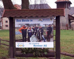 Das Beste in Welda - Unsere Rentner AG