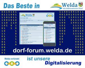Das Beste in Welda - Unser Dorf-Forum