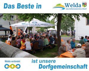 Das Beste in Welda - unsere Dorfgemeinschaft