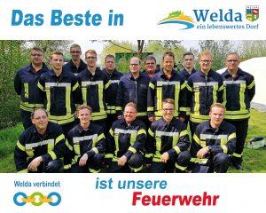 Das Beste in Welda - Unsere Feuerwehr