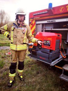Feuerwehr Welda neue TS