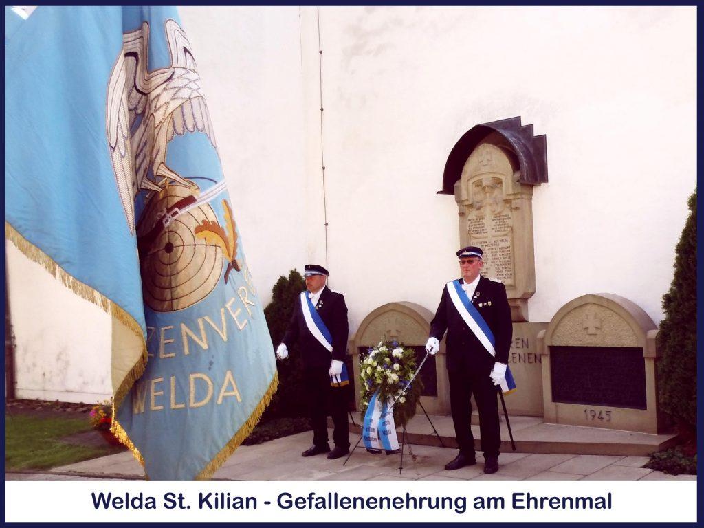 Welda St. Kilian - Gefallenenehrung